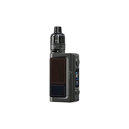 Kit iStick Power 2 (Dark Brown) 80 W, kit de inicio de cigarrillo electrónico equipado con cartuchos de tanque GTL Pod de 4,5 ml, alimentado por una batería incorporada de 5000 mAh, sin nicotina