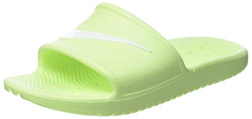 Nike Damen Kawa Shower Slide Sandal, Barely Volt/White, 39 EU