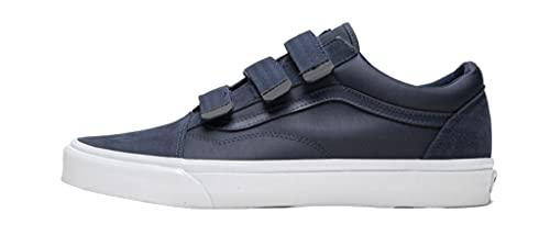 Vans Surplus Nylon/Suede Old Skool V (Dress Blues) Men's Fashion Sneaker Shoes (Numeric_9_Point_5)
