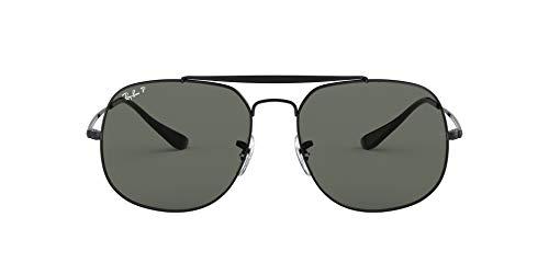 Ray-Ban 0RB3561, Gafas de Sol para Hombre, Negro (Green Classic G15), 57