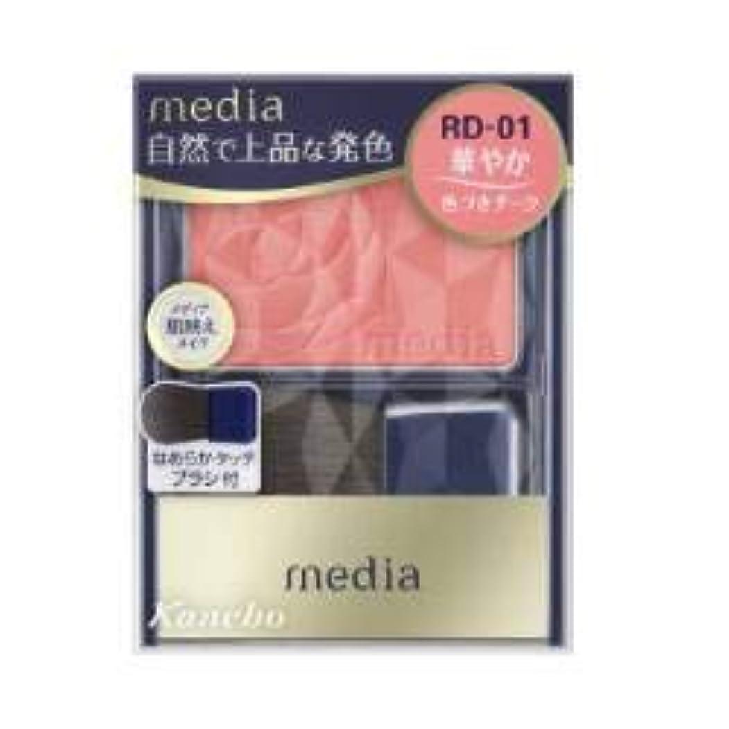楽しませるこれまでブラストカネボウ メディア ブライトアップチークN RD01
