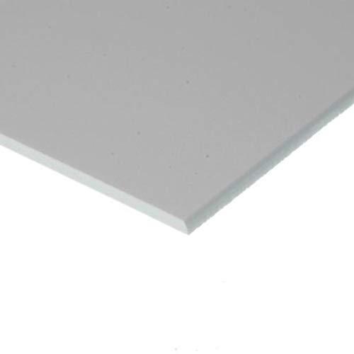 Evergreen 9080 - Placa de poliestireno (150 x 300 x 2,00 mm, 1 unidad), color blanco