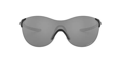 Oakley Women's OO9453 EVZero Ascend Rectangular Sunglasses, Polished Black/Prizm Black, 37 mm
