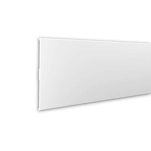 Jamba Profhome 488001 Perfil de fachada Marco para ventanas Perfil de estuco diseño moderno blanco 2 m