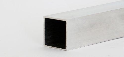 Aluminium Quadratrohr Länge 1500 mm 20x20x2mm