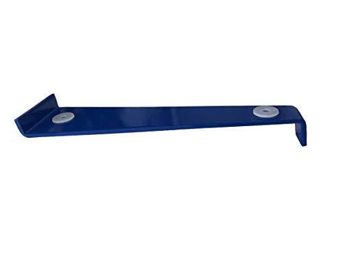 Goodway Profi-Zugeisen │ blau │ 1 Stück │ 28 cm lang │ für Parkett- und Laminatverlegung │ Schlageisen │ Zugstange │ Montageeisen