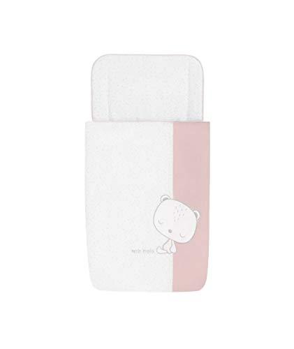 Petitpraia Sleepy Rosa Saco Cuco Desenfundable (74 X 40 Cm) - Sacos Para Dormir