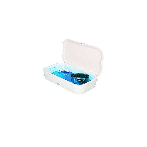 Caja esterilización UV + cargador Wireless móvil KSIX