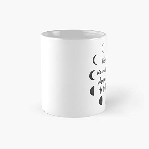 Moon Phases Classic Mugh - Funny Gift Coffee Mug Tea Cup White 11 Oz The Best Gift For Holidays.