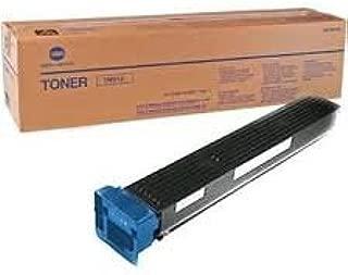 Konica Minolta Genuine Brand Name, OEM TN613C (TN-613C) Cyan Toner Cartridge (30K YLD) AKA A0TM430 for Bizhub C452, Bizhub C552, Bizhub C652 Printers