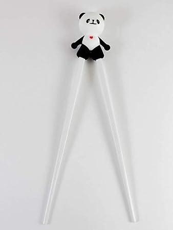 Childrens Practise Panda Chopsticks Black