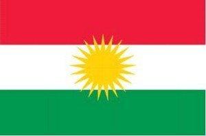 Fahnen Flaggen KURDISTAN 150 x 90 cm Fahne Flagge