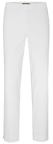 Stehmann - INA - 740 - Stretchhose in aktuellen Farben, Weiß, 46