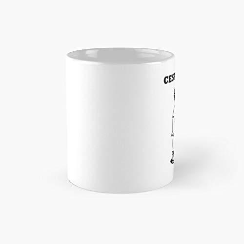 Cesar Asar - T-shirt - 11 Oz Ceramic Coffee Mug