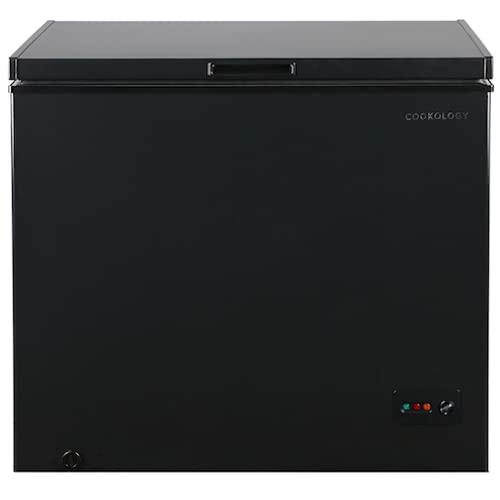 Cookology CCF198BK Freestanding 198 litre Chest Freezer 945cm wide (Black)