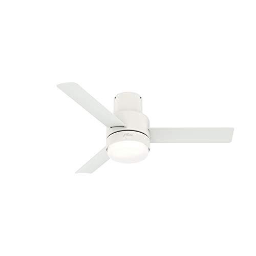 Hunter Fan Company 51334 Gilmour Ceiling Fan, 44, Matte White