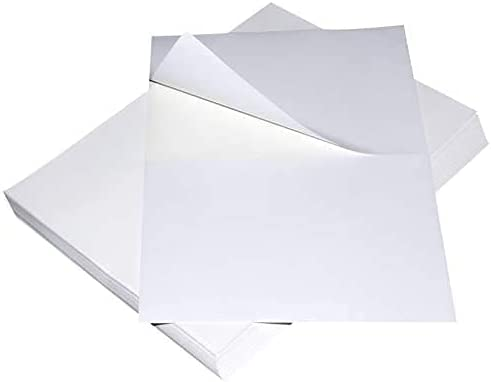 "EC PAK Half Sheet Mailing Labels Postage Popular 5.5"" 8.5 x Bo Max 77% OFF Shipping"