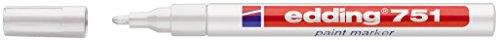 Edding 751-49 Paintmarker weiß Kunststoffspitze 1-2mm Strichbreite