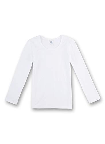 Sanetta Sanetta Mädchen Unterhemd, 1/1 Arm weiß 344665 (128)