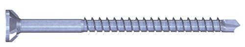 Reisser 07056/0 SPARIBO - Tornillo para madera, cabeza avellanada, 4,0 x 45, rosca parcial Torx 20, galvanizado, azul, plata, 4 x 45-500 unidades