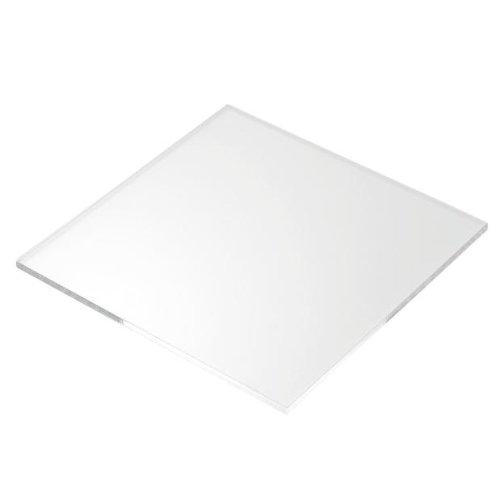 CrestGlass - Foglio spesso 10mm in acrilico perspex trasparente, 13 dimensioni a scelta 420mm x 297mm / A3 Trasparente
