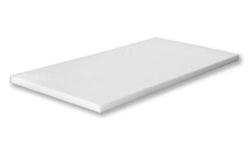Basotect ® Akustikschaumstoff - Plattenware 118x58x3 cm weiß, schwer entflammbarer nach DIN 4102 B1 offenporiger Schaumstoff zur Schallabsorption