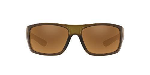 Native Eyewear Distiller Polarized Sunglasses, Matte Moss/Bronze Reflex, 62 mm