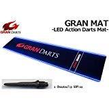 GRAN MAT -LED Action Darts Mat- Wiht...