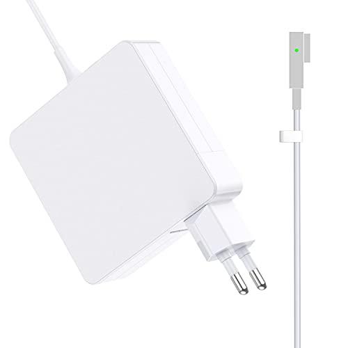 Kompatibel mit MacBook Pro Ladegerät, 60W MS 1-Netzteiladapter L-Tip-Anschluss für MacBook Air 11 Zoll und 13 Zoll (2009, Ende 2010, 2011, 2012, Sommer)