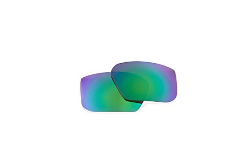 Spy Optic OFFICIAL Replacement Lenses for SPY SUNGLASSES (MCCOY REPLACEMENT LENS-HAPPY BRONZE POLAR WITH GREEN SPECTRA MIRROR, MCCOY REPLACEMENT LENS-HAPPY BRONZE POLAR WITH GREEN SPECTRA MIRROR)