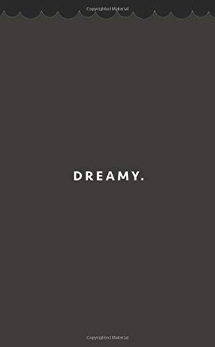 Dreamy.: A Mostly Line Ruled Journal For Expression When Drawing A Blank Dramatic Gorgeous Custom Hex Hue Of 2D2925 Bonus Positive Words List Pages & A Few Blank Leaves