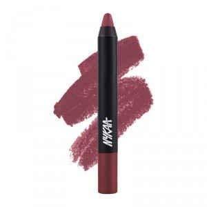 Nykaa MATTE-ilicious Crayon Lipstick Twilight Dreams - 13 (2.8gm)
