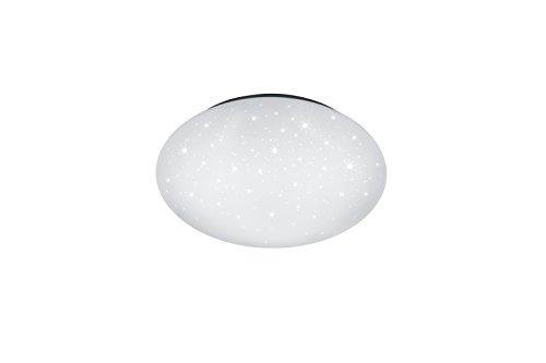 lightling Basic LED Deckenleuchte Max mit Starlight Effekt, 15W LED Leuchtmittel inklusive, Schutzklasse IP44, ø 40 cm