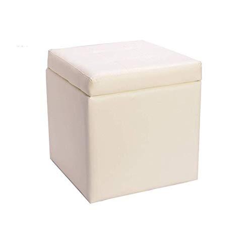 JFFFFWI Otto cubeLeatherette Storage Man mit Couchtischhocker, Klappdeckel, Home Hocker (Farbe: # 5)