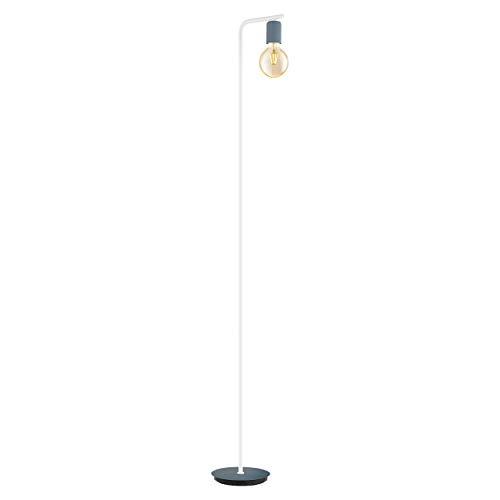 Eglo ADRI-P - Lámpara de pie (acero, 12 W), color azul y blanco