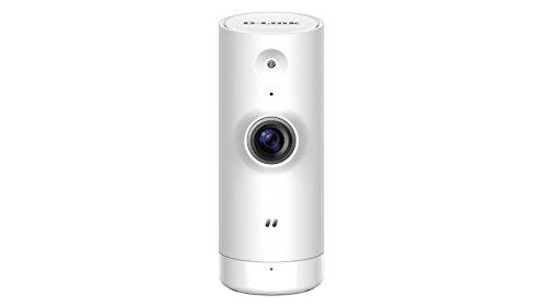 D-Link Mini HD Cámara de Seguridad IP Interior Escritorio 1280 x 720 Pixeles - Cámara de vigilancia (Cámara de Seguridad IP, Interior, Inalámbrico, CE, CE LVD, ICES, FCC, Escritorio, Blanco)