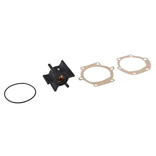 BUSUANZ Kit Impulsor Bomba de Agua 6 Cuchillas para Johnson 09-1026B JABSCO 673-0001