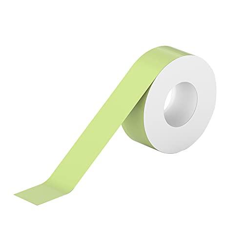 Decdeal 1 rolka Etykieta samoprzylepna Papier Śliczny wzór Taśma klejąca Druk termiczny Nazwa Cena Naklejka z kodem kreskowym Organizacja biura domowego Wodoodporny Odporny na olej Odporny na rozdarcie
