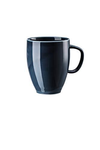 Rosenthal - Junto - Ocean Blue - Becher mit Henkel/Henkelbecher/Kaffeebecher - 0,38 l