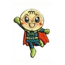 INAGAKI(稲垣服飾) アンパンマン シール/アイロン接着両用 シールワッペン メロンパンナちゃん ANC003 6枚セット 0330176