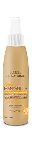 Be Natural, Gold Manzanilla Loción Intensiva Aclarante para el cabello, 100ml