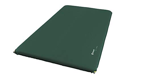 Outwell Self-Inflating Mat Nirvana Double 10cm Grün, Schaumstoff-Isomatte, Größe 200 cm - Farbe Green