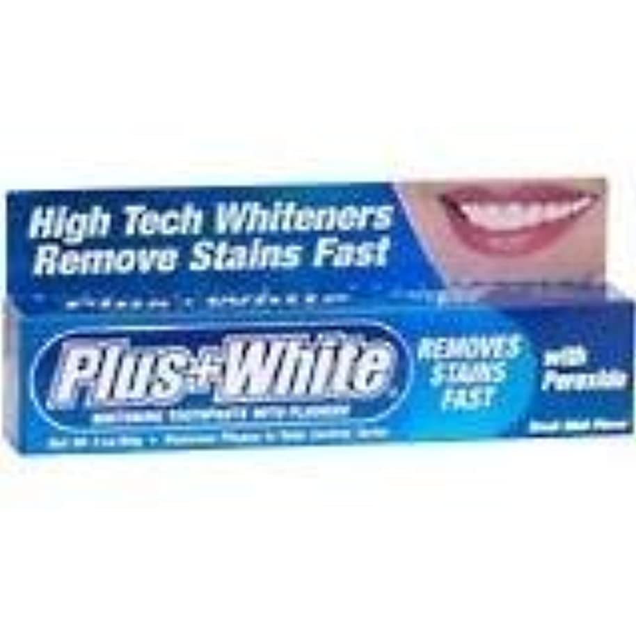悪意のあるスクリュー一般化するPlus White 過酸化物とエクストラホワイトニング歯磨き(1パック)