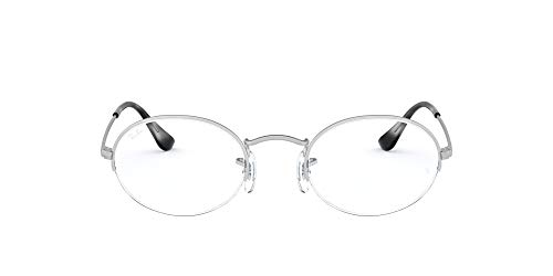 Ray-Ban Unisex RX6547 Lesebrille, Silver, 49