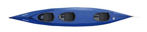 Triton Vuoksa Iii Advanced 3er Faltboot Kajak Faltkajak, blau
