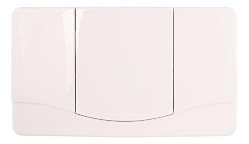 Sanitop-Wingenroth Betätigungsplatte mit Spül-Stopp-Funktion in weiß, 21179 6
