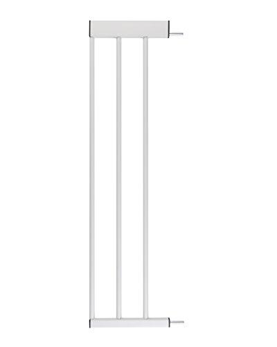 Zubehör für Babyschutzgitter von BOMI | Größen: 10-70 cm | Verbreiterungen Türschutzgitter | Extensions Klemmgitter für Babys, Kleinkinder & Tiere Türgitterverlängerung in Weiß | 20 cm Verlängerung