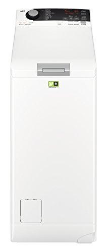 AEG L7TE74275 Waschmaschine Toplader / Energiesparender Waschvollautomat / Energieklasse E / Mit ProSense- und ProSteam-Technologie / 40 cm breit mit 7 kg Fassungsvermögen