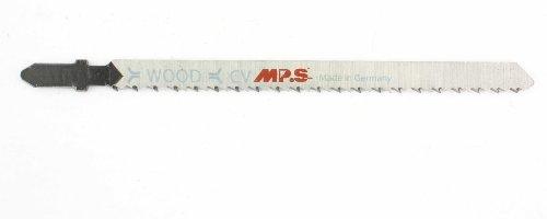 5 MPS Stichsägeblätter splitterfreier Schnitt, umgekehrte Verzahnung 2,5/132mm
