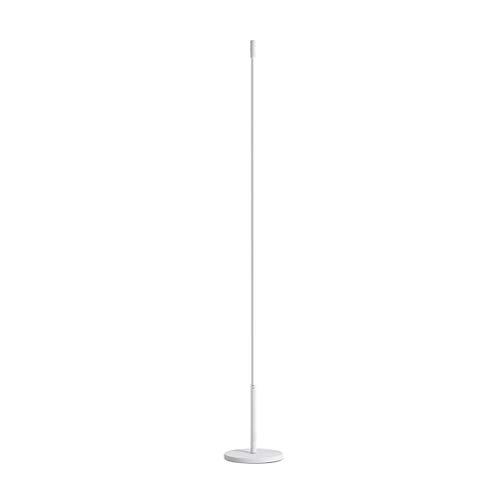 HGFMY Lampara pie Salon LED Regulable, Lampara Salon con Mando, 3 Temperaturas de Color, Lampara pie Oficina, Lámparas de pie Infantiles, Interruptor de Pie, Base de Metal Redonda, 24W (white)
